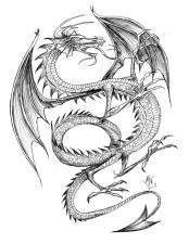 Dragão alado