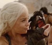 Dany e baby Drogon