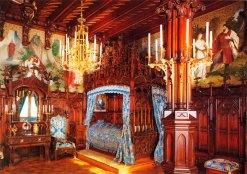 Neuschwanstein, Interior: Dormitório
