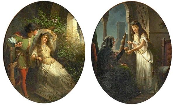 Sleeping Beauty, de Johanna Kirsch, 1856