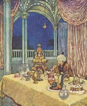 Ilustração de Edmund Dulac