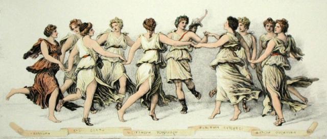 Apolo e as musas, Autor desconhecido