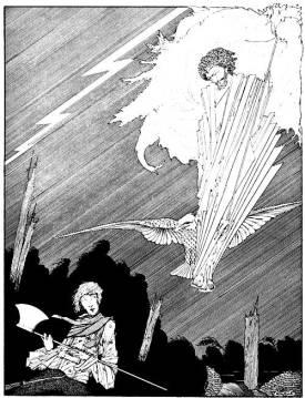 Ilustração de Harry Clarke
