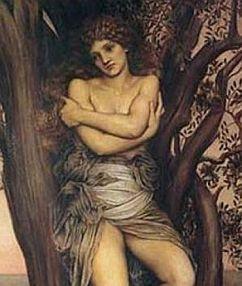 A Dríade, de Evelyn De Morgan (1850-1919)