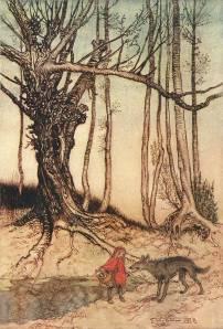 Ilustração de Arthur Rackham